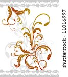 floral designs vector... | Shutterstock .eps vector #11016997