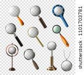 magnifying glass vector... | Shutterstock .eps vector #1101703781
