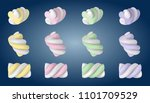sweet  cute tasty little... | Shutterstock .eps vector #1101709529