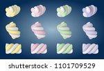 sweet  cute tasty little... | Shutterstock .eps vector #1101709529
