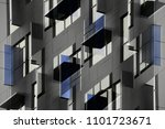 multiple exposure photo of...   Shutterstock . vector #1101723671