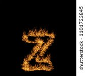 conceptual hot fiery burning... | Shutterstock . vector #1101723845