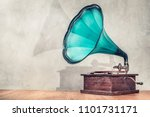 vintage antique aged aquamarine ... | Shutterstock . vector #1101731171