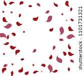abstract flower petals confetti ...   Shutterstock .eps vector #1101731321