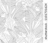 zentangle adult coloring... | Shutterstock .eps vector #1101731624