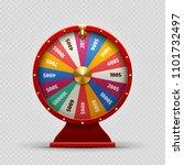 colorful realistic casino... | Shutterstock . vector #1101732497