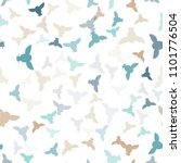 seamless vector pattern with... | Shutterstock .eps vector #1101776504