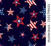 seamless patterns with american ... | Shutterstock .eps vector #1101798431