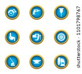 produce a tool icons set. flat... | Shutterstock .eps vector #1101798767