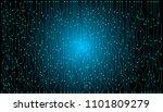 circuit board hi scifi future... | Shutterstock .eps vector #1101809279