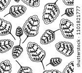 line natural leaf tropical... | Shutterstock .eps vector #1101821777