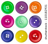 collection of various sewing... | Shutterstock . vector #110182931