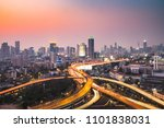 aerial view of the modern... | Shutterstock . vector #1101838031