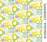 seamless geometric background... | Shutterstock .eps vector #1101843491