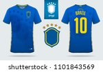 soccer jersey or football kit...   Shutterstock .eps vector #1101843569