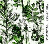art vintage blurred monochrome... | Shutterstock . vector #1101844067