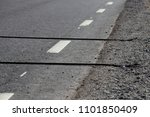 vehicle traffic counter on the... | Shutterstock . vector #1101850409