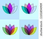 lotus four color material and...