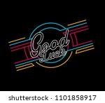 good luck  vector beautiful... | Shutterstock .eps vector #1101858917