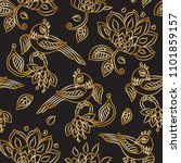 vector seamless pattern in... | Shutterstock .eps vector #1101859157