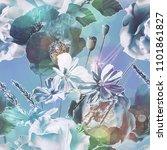 art vintage blurred colorful... | Shutterstock . vector #1101861827