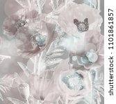 art vintage blurred colorful... | Shutterstock . vector #1101861857