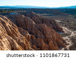 cathedral gorge state park... | Shutterstock . vector #1101867731