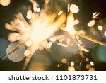 sparkler bokeh colorful...   Shutterstock . vector #1101873731