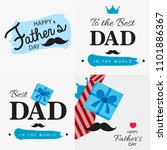 happy father's day vector...   Shutterstock .eps vector #1101886367