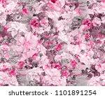 Orchid Flowers Fashion Fabric Pattern - Fine Art prints