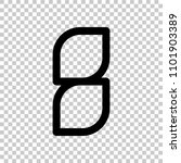 number 8  numeral  eighth. on... | Shutterstock .eps vector #1101903389