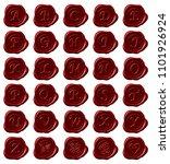 elegant sealing wax | Shutterstock . vector #1101926924