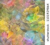 art vintage blurred colorful... | Shutterstock . vector #1101929864