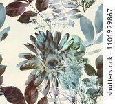 art vintage blurred colorful... | Shutterstock . vector #1101929867