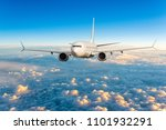 front view of aircraft in... | Shutterstock . vector #1101932291