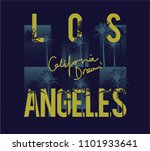los angeles california surf... | Shutterstock .eps vector #1101933641