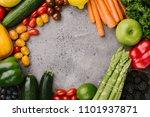 arrangement of different...   Shutterstock . vector #1101937871