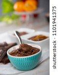 a close up of bowl of dark... | Shutterstock . vector #1101941375