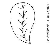 leaf single decorative icon | Shutterstock .eps vector #1101957821