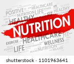 nutrition word cloud collage ... | Shutterstock . vector #1101963641