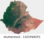 Large (14 MP) satellite image of Ethiopia. Country photo from space. Isolated imagery of Ethiopia. Elements of this image furnished by NASA.