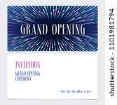 grand opening vector... | Shutterstock .eps vector #1101981794