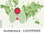bangladesh  detailed map of... | Shutterstock . vector #1101999005