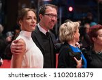 Small photo of Berlin, Germany - February 24, 2018: Ana Ivanova, Marcelo Martinessi, Ana Brun and Margarita Irun pose on the red carpet before the awards ceremony of the 68th edition of the Berlinale Film Festival