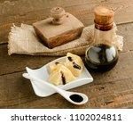 traditional italian balsamic...   Shutterstock . vector #1102024811