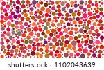 abstract background of circles... | Shutterstock .eps vector #1102043639