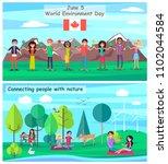 june 5 world environment day... | Shutterstock .eps vector #1102044584