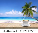 coffee. coffee espresso. cup of ... | Shutterstock . vector #1102045991