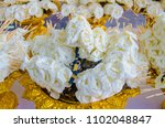 flowers paper for ceremony... | Shutterstock . vector #1102048847