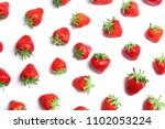 composition with ripe red... | Shutterstock . vector #1102053224